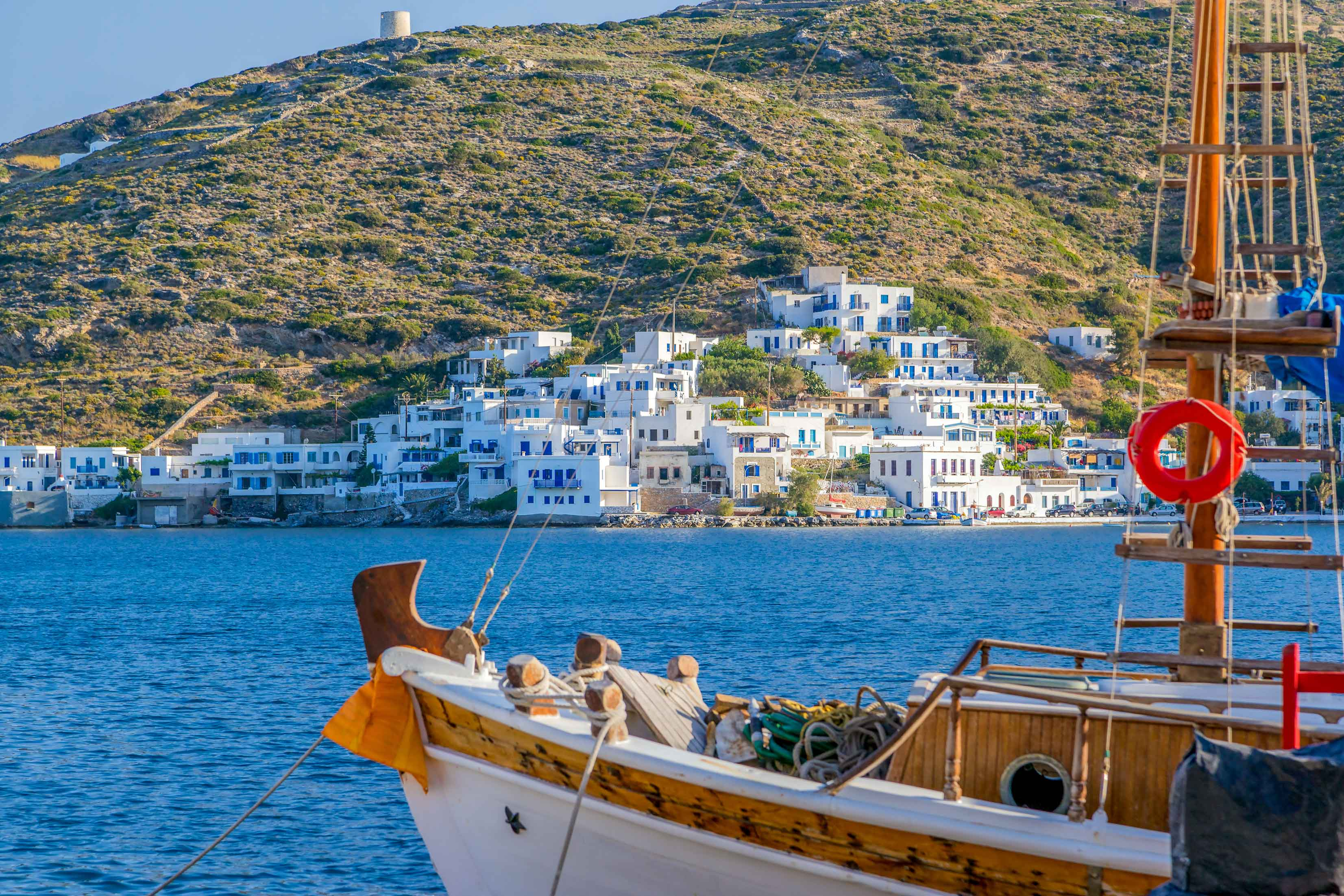 in Love with the Med - Amorgos, Katapola