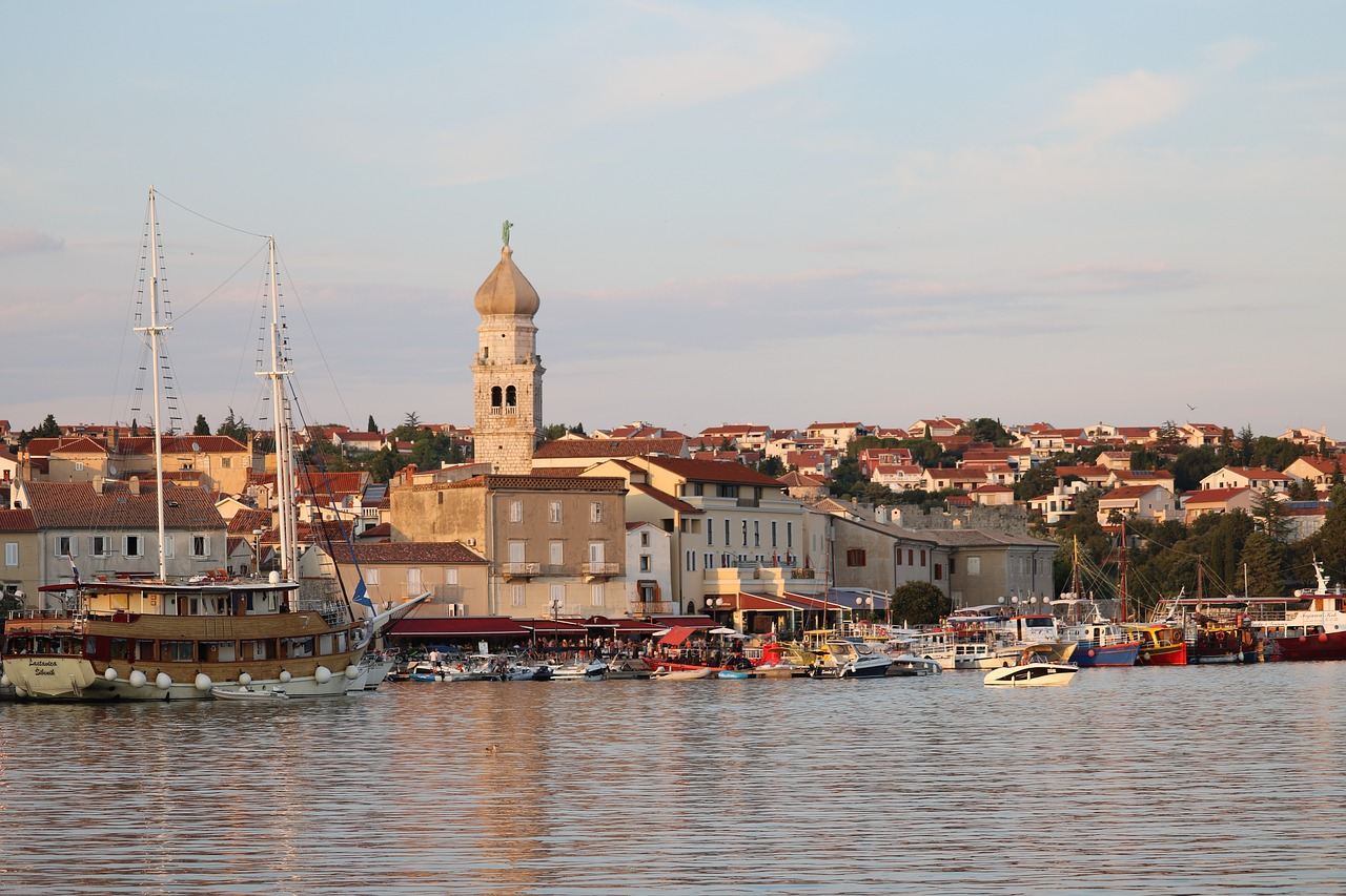 A holiday on the Island of Krk and Villa Lanterna in Croatia